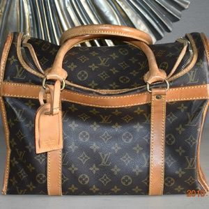 Louis Vuitton Monogram Sac Chien Dog Carrier 40